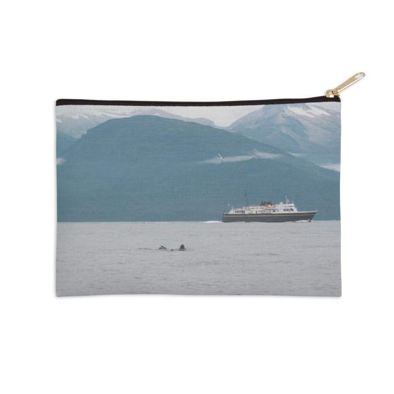 Sea Lion Swim Accessories Zip Pouch by AirStory's Shop
