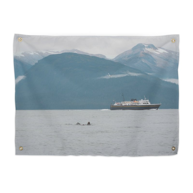 Sea Lion Swim Home Tapestry by AirStory's Shop