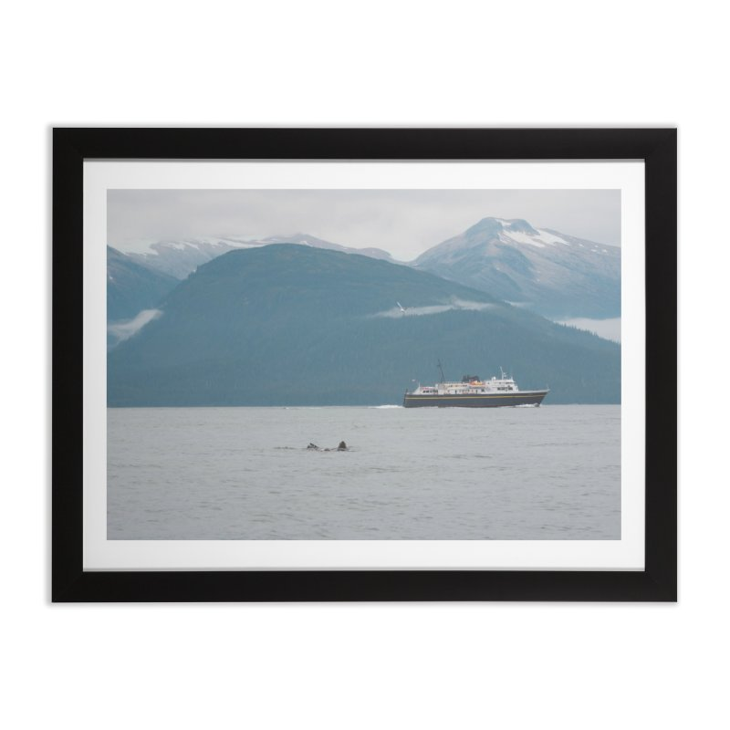 Sea Lion Swim Home Framed Fine Art Print by AirStory's Shop