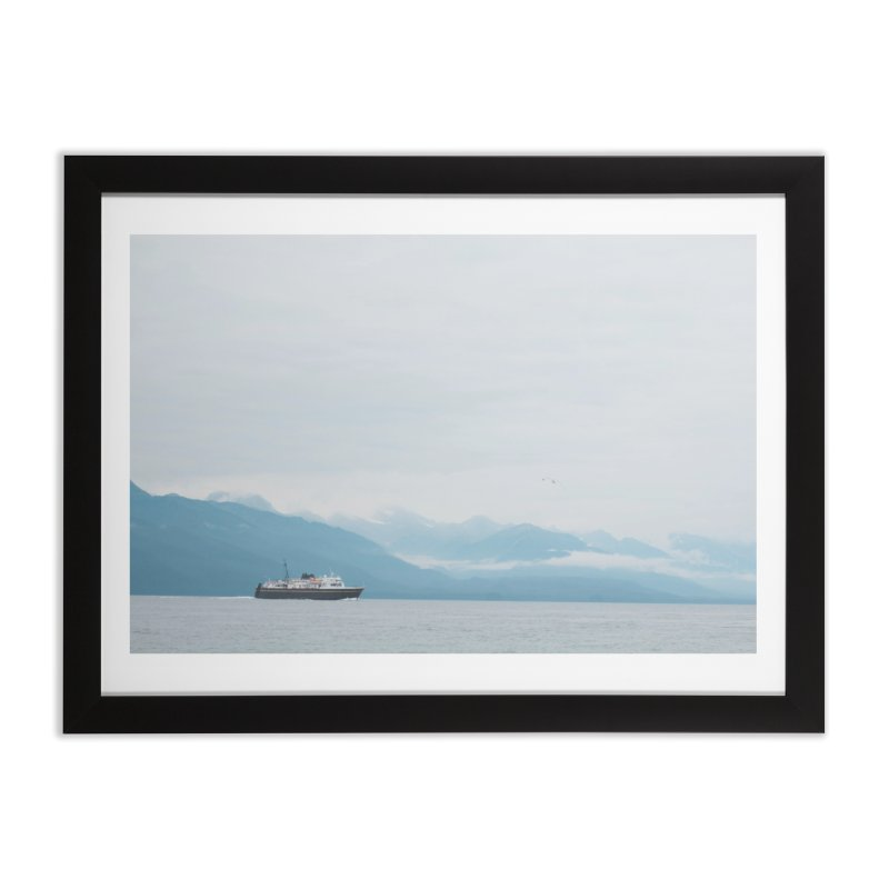 Ship Life Home Framed Fine Art Print by AirStory's Shop