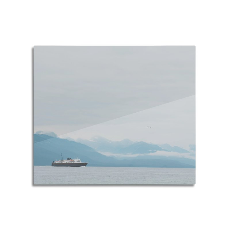 Ship Life Home Mounted Aluminum Print by AirStory's Shop