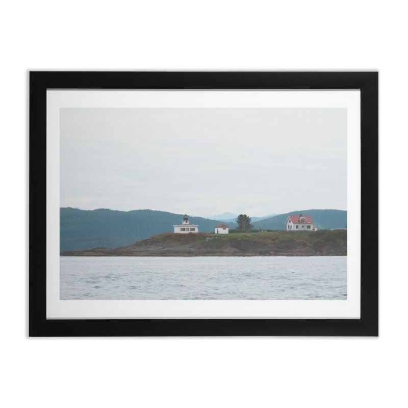 Village Bluff Home Framed Fine Art Print by AirStory's Shop