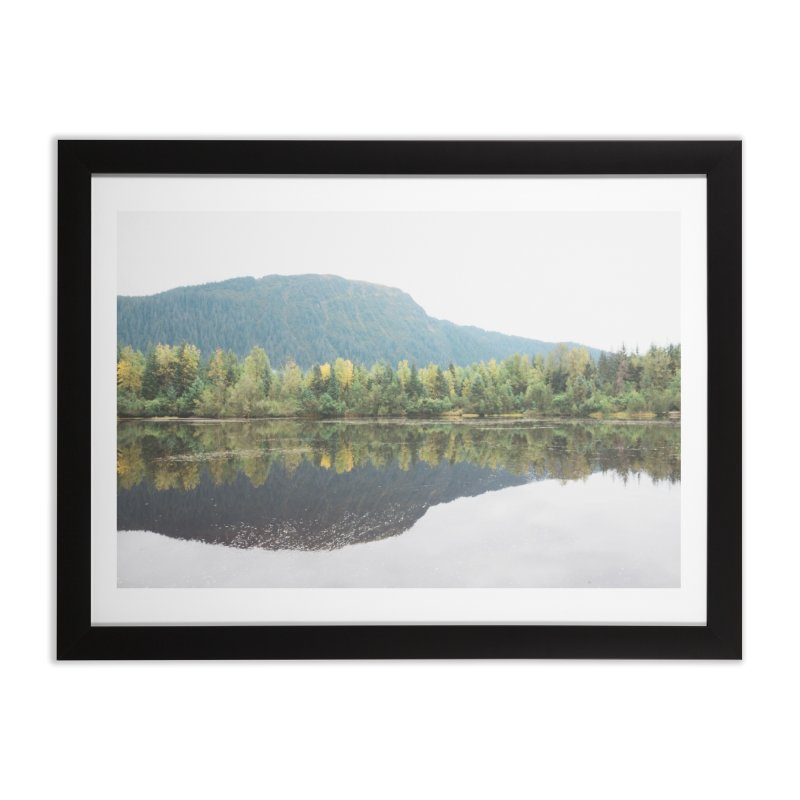 Beaver Lake Home Framed Fine Art Print by AirStory's Shop