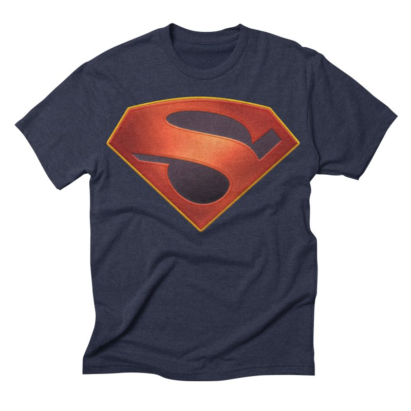 shield  Men's Triblend T-shirt by ajeyes's Artist Shop