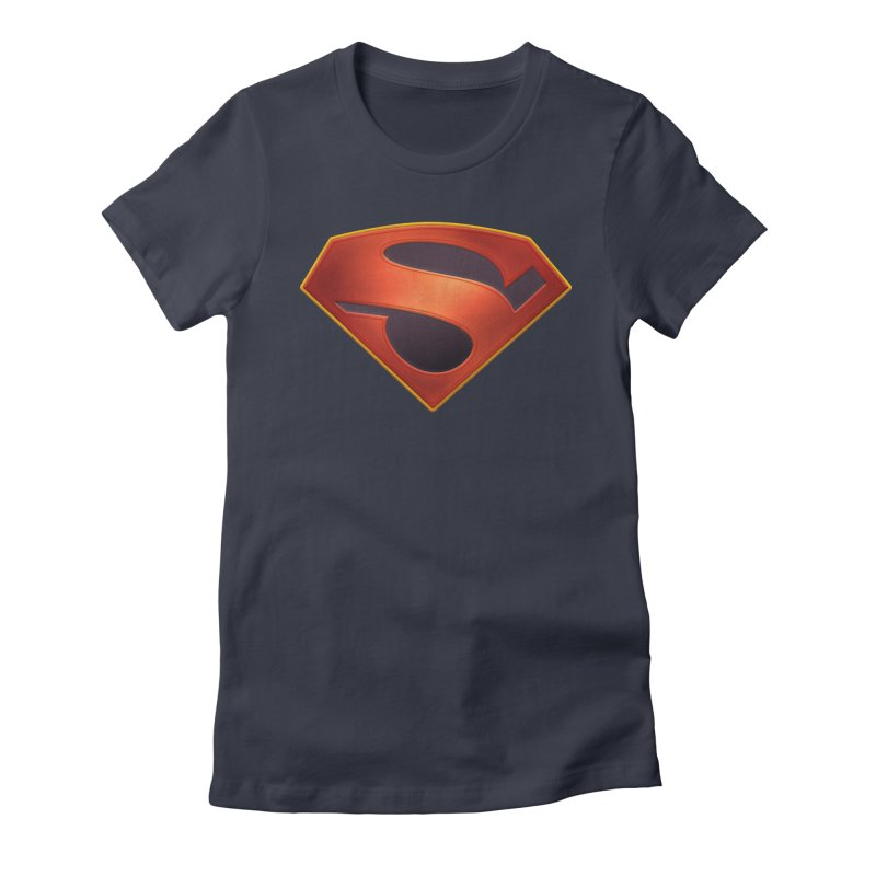 shield  Women's Fitted T-Shirt by ajeyes's Artist Shop