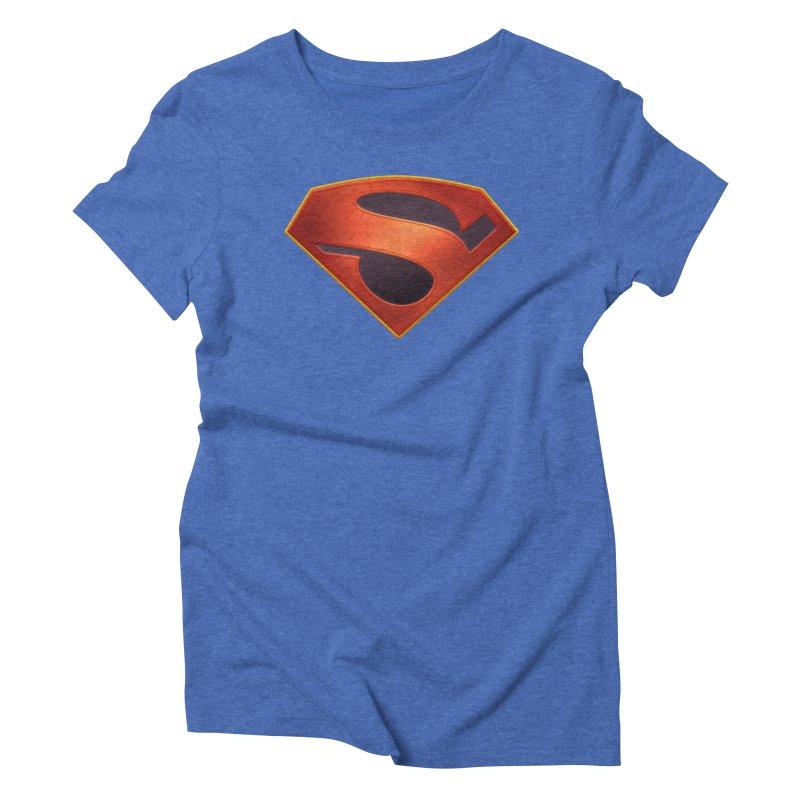 shield  Women's Triblend T-Shirt by ajeyes's Artist Shop