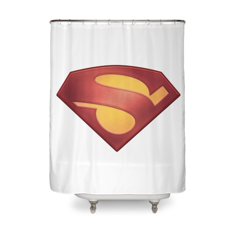 \S/ Home Shower Curtain by ajeyes's Artist Shop