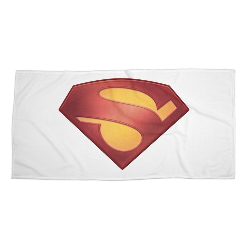 \S/ Accessories Beach Towel by ajeyes's Artist Shop