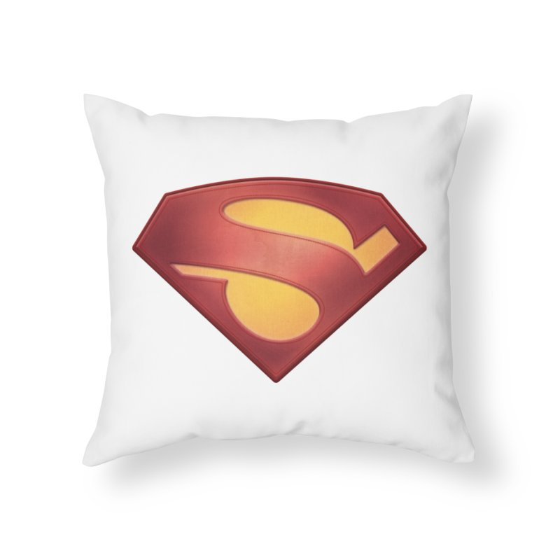 \S/ Home Throw Pillow by ajeyes's Artist Shop
