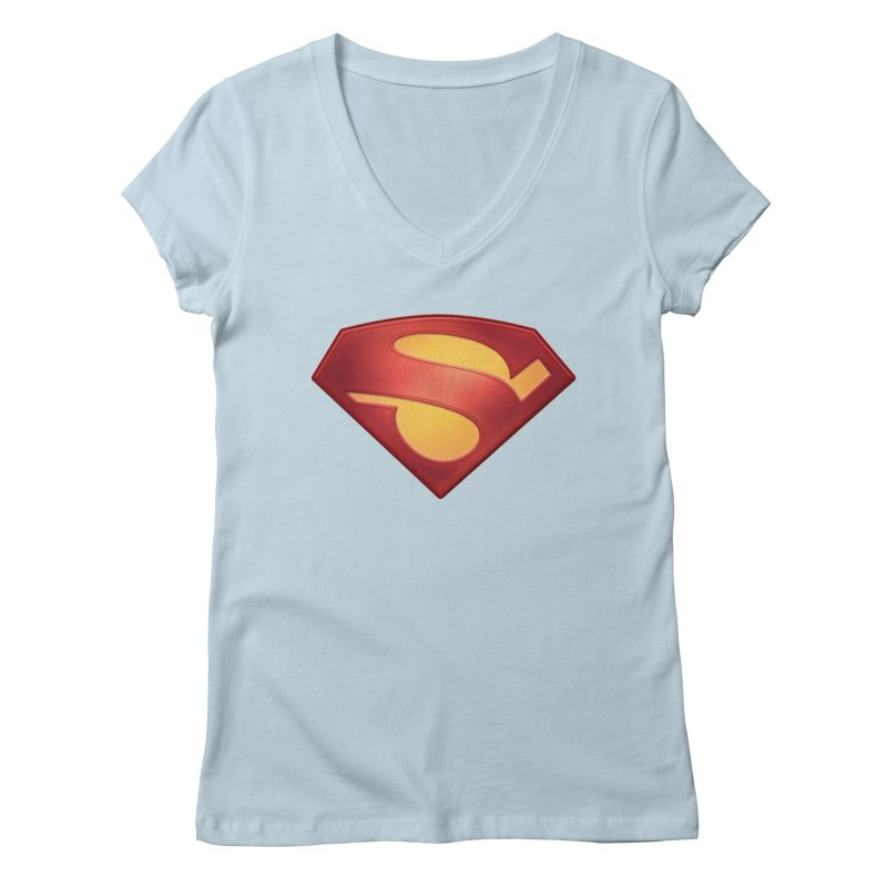 \S/ Women's V-Neck by ajeyes's Artist Shop