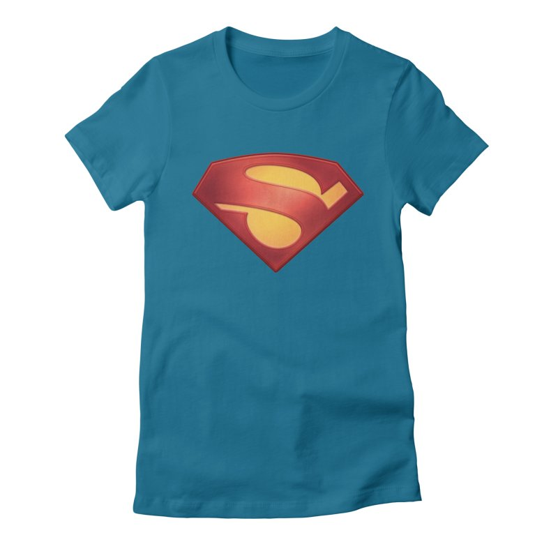 \S/ Women's Fitted T-Shirt by ajeyes's Artist Shop