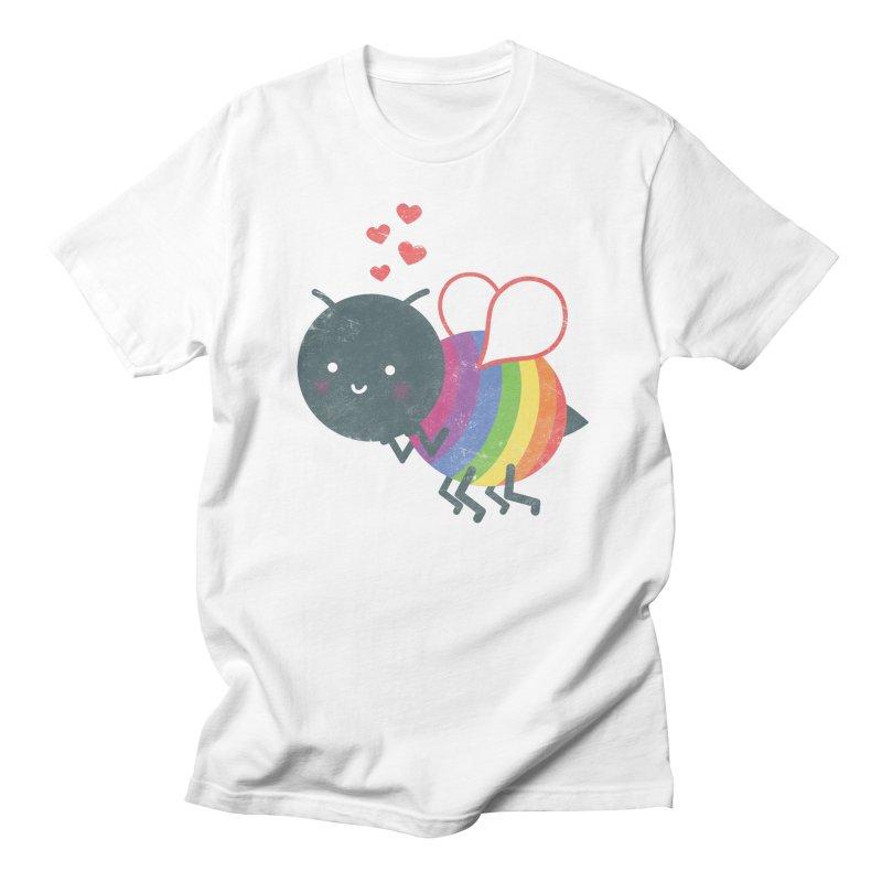 Bee Yourself! Men's T-Shirt by Akaka