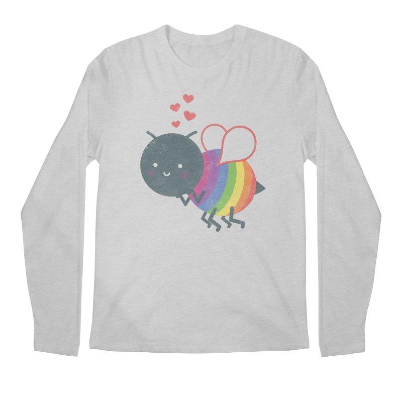 Bee Yourself! Men's Longsleeve T-Shirt by Akaka