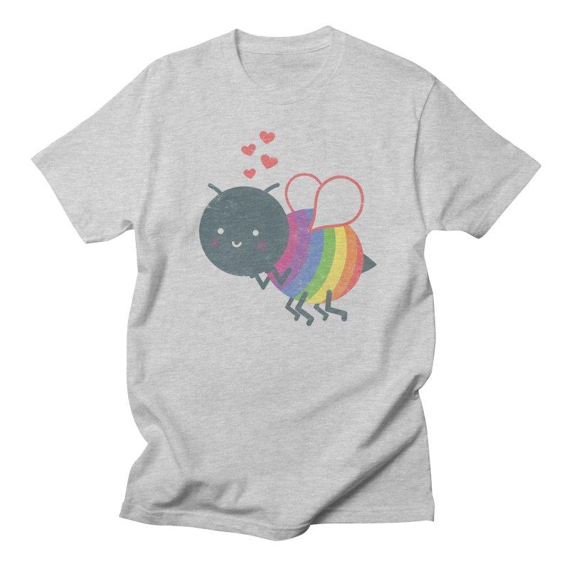 Bee Yourself! Men's Regular T-Shirt by Akaka
