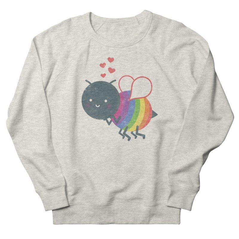 Bee Yourself! Men's French Terry Sweatshirt by Akaka