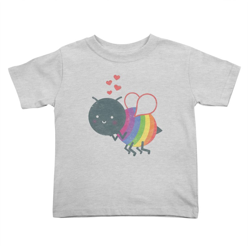 Bee Yourself! Kids Toddler T-Shirt by Akaka