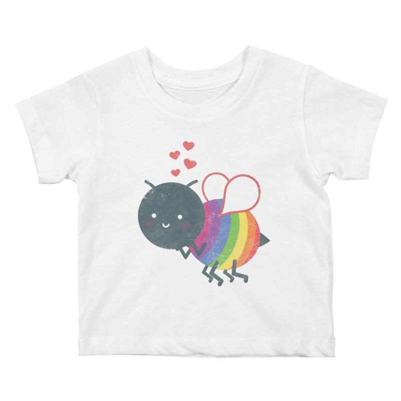 Bee Yourself! Kids Baby T-Shirt by Akaka