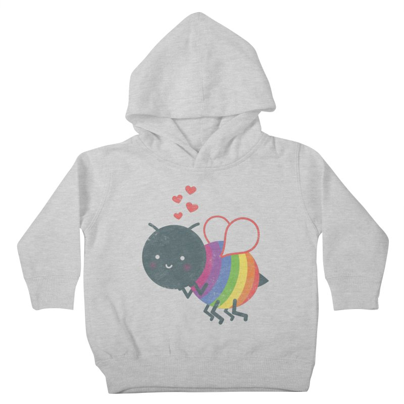Bee Yourself! Kids Toddler Pullover Hoody by Akaka