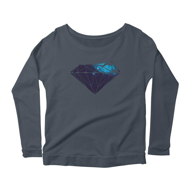 Disintegrate Women's Scoop Neck Longsleeve T-Shirt by Akaka