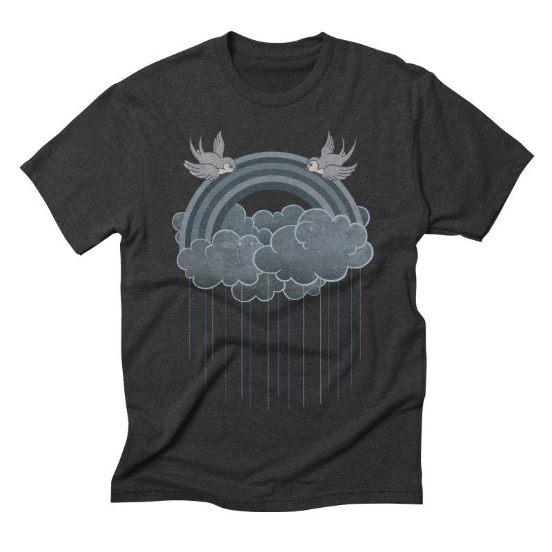 Doom & Gloom Men's Triblend T-shirt by Akaka