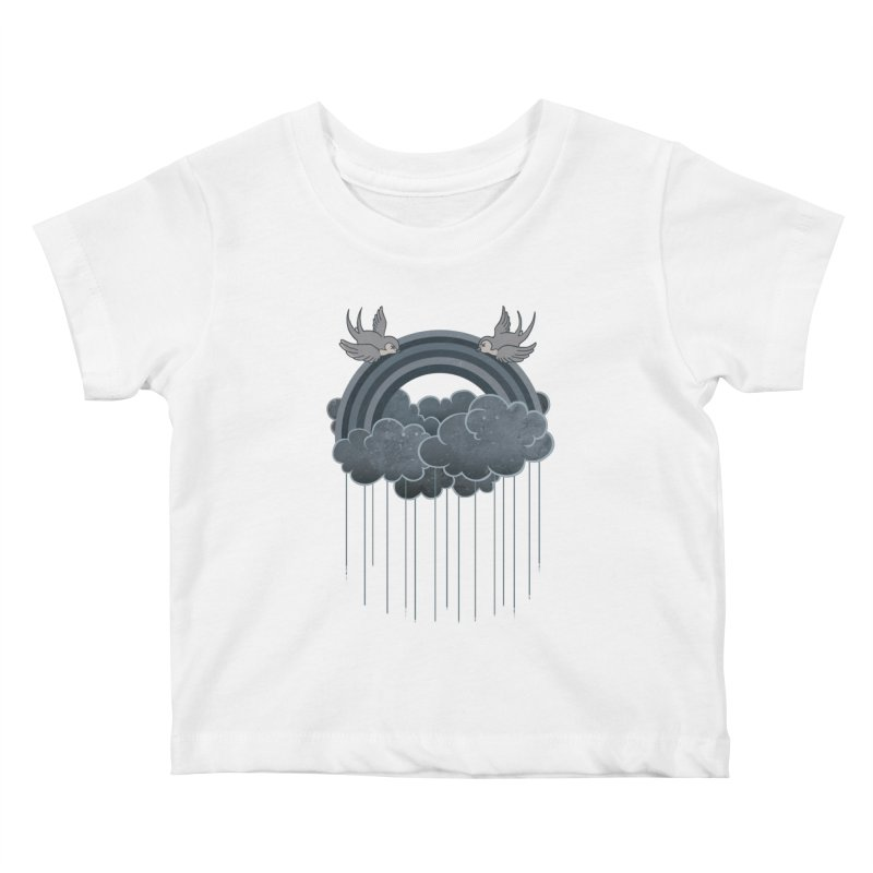 Doom & Gloom Kids Baby T-Shirt by Akaka