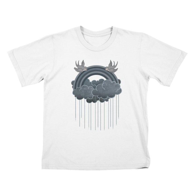 Doom & Gloom Kids T-shirt by Akaka
