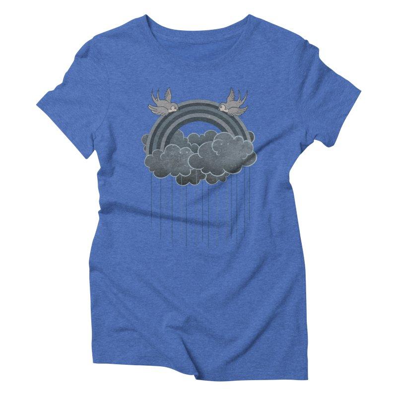 Doom & Gloom Women's Triblend T-shirt by Akaka