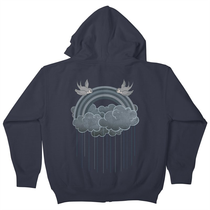 Doom & Gloom Kids Zip-Up Hoody by Akaka