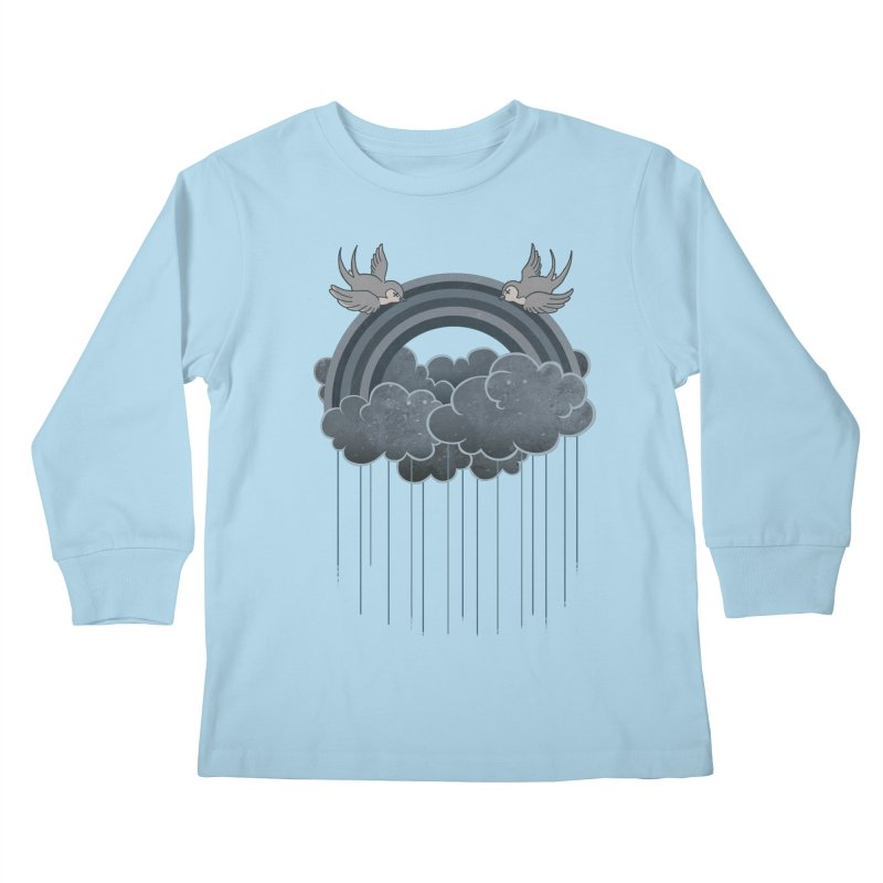 Doom & Gloom Kids Longsleeve T-Shirt by Akaka