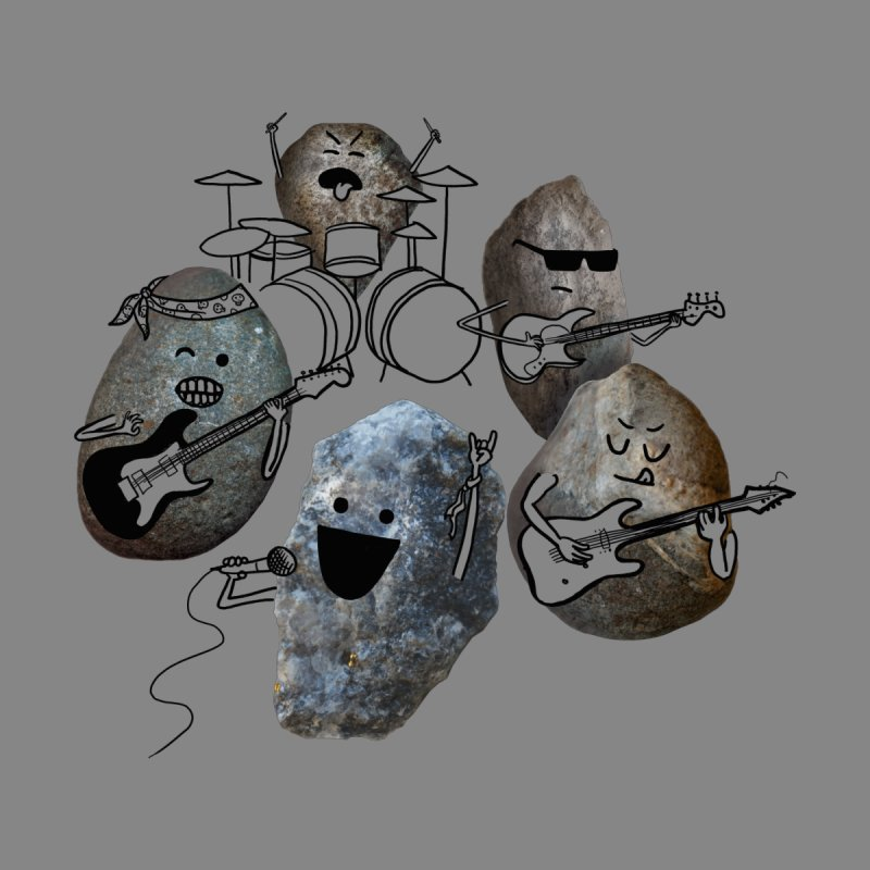 Rock Band Kids T-Shirt by Akaka