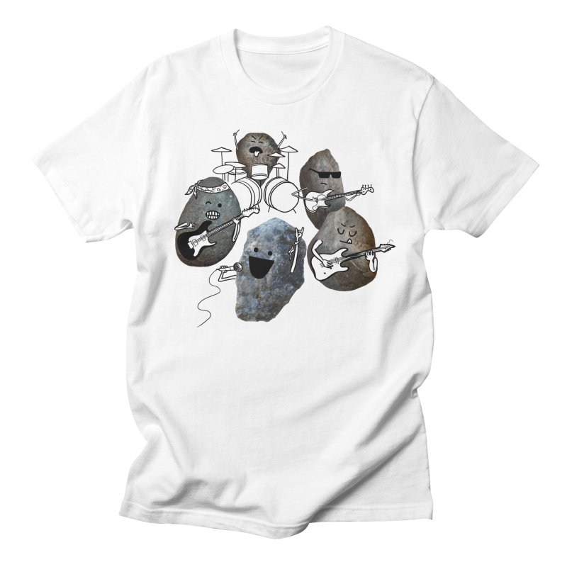 Rock Band Men's T-shirt by Akaka