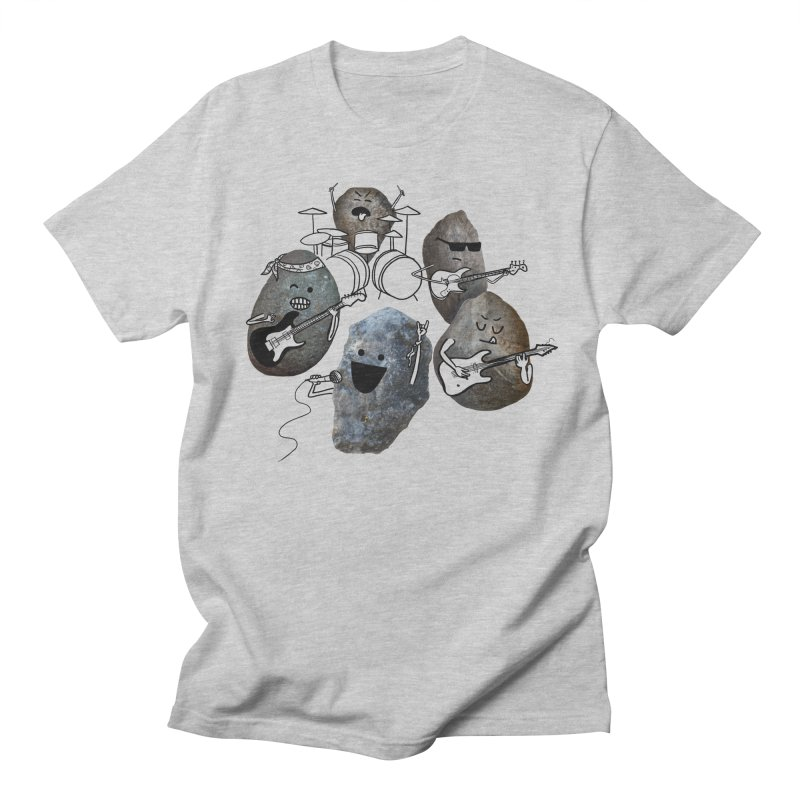 Rock Band Men's Regular T-Shirt by Akaka