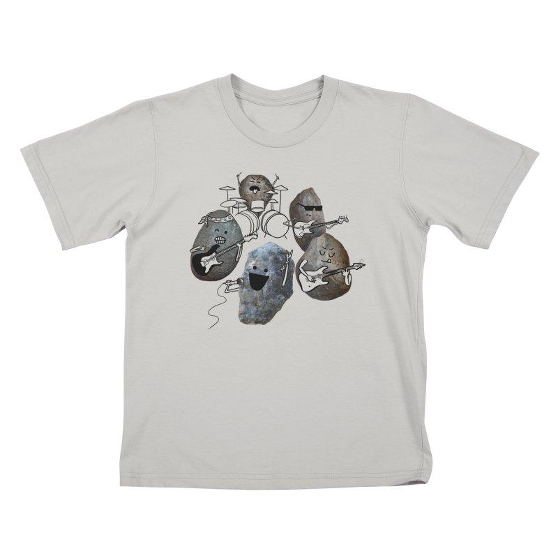 Rock Band Kids T-shirt by Akaka