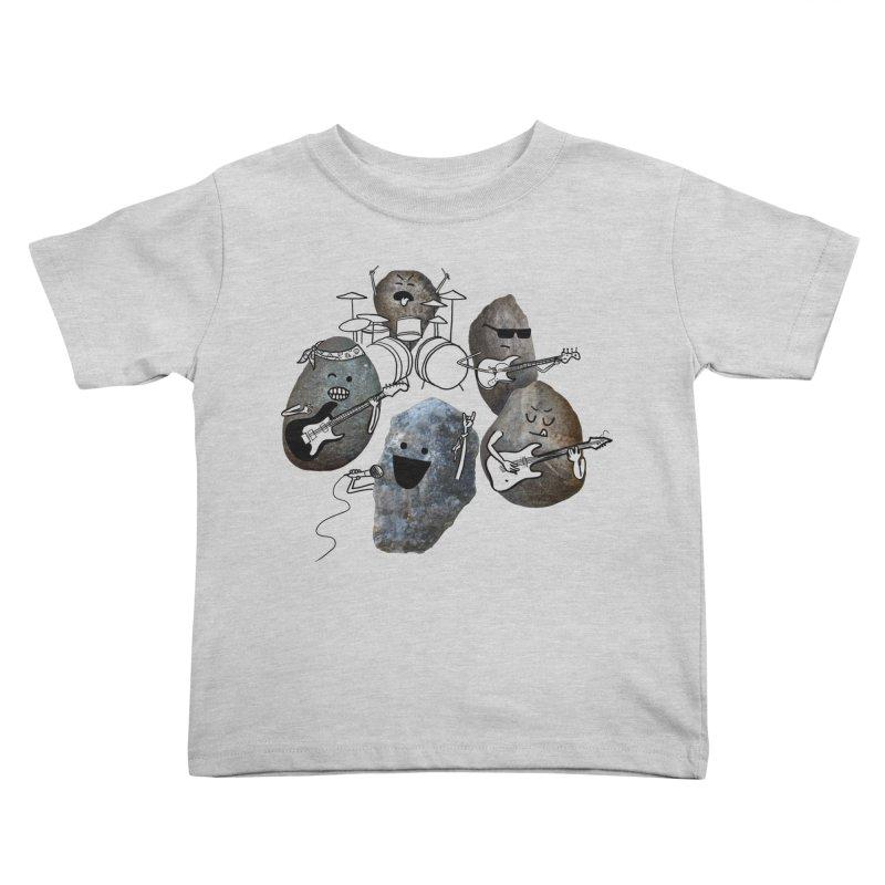 Rock Band Kids Toddler T-Shirt by Akaka