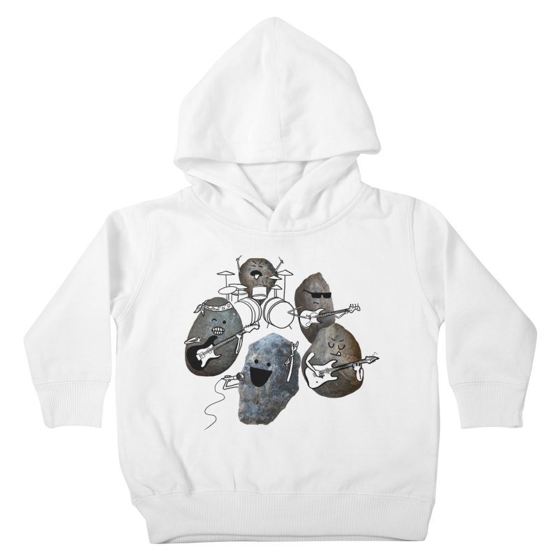 Rock Band Kids Toddler Pullover Hoody by Akaka