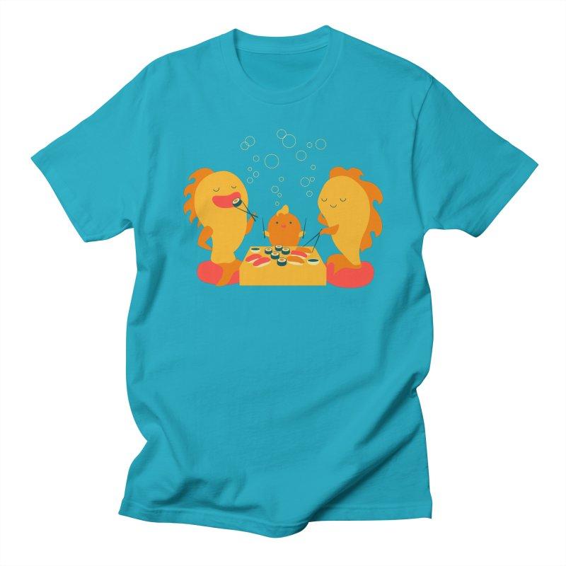 Sushi Lovers Men's Regular T-Shirt by Akaka