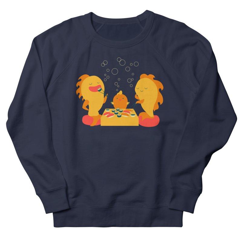Sushi Lovers Men's French Terry Sweatshirt by Akaka