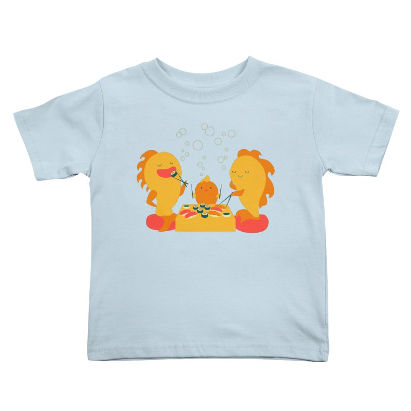 Sushi Lovers Kids Toddler T-Shirt by Akaka