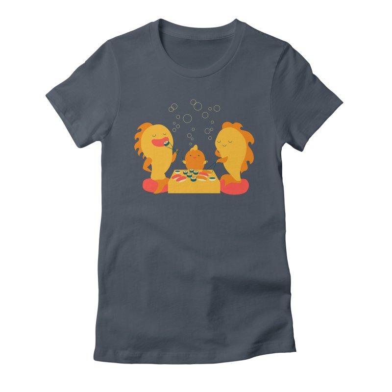 Sushi Lovers Women's T-Shirt by Akaka