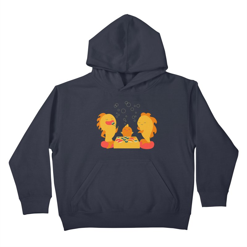 Sushi Lovers Kids Pullover Hoody by Akaka