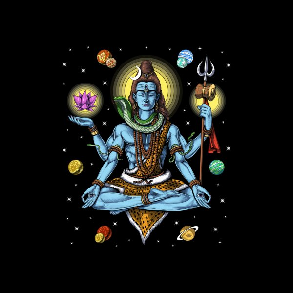 image for Psychedelic Lord Shiva Meditation
