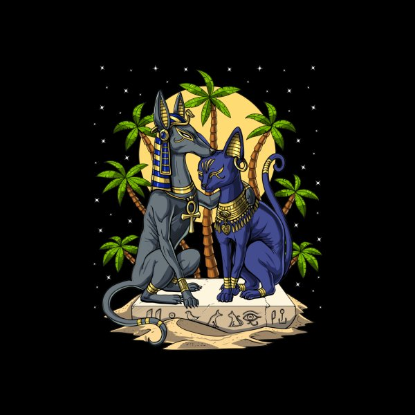 image for Anubis and Bastet