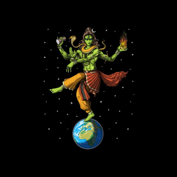 image for Alien Lord Shiva