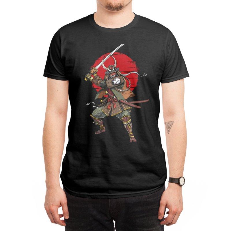 Samurai Demon Oni Men's T-Shirt by Akasha Shrine