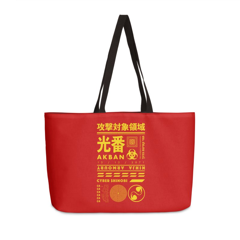 AKBAN Yellow Hazard Accessories Bag by AKBAN Core Official