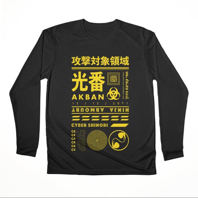 AKBAN Yellow Hazard Women's Longsleeve T-Shirt by AKBAN Core Official