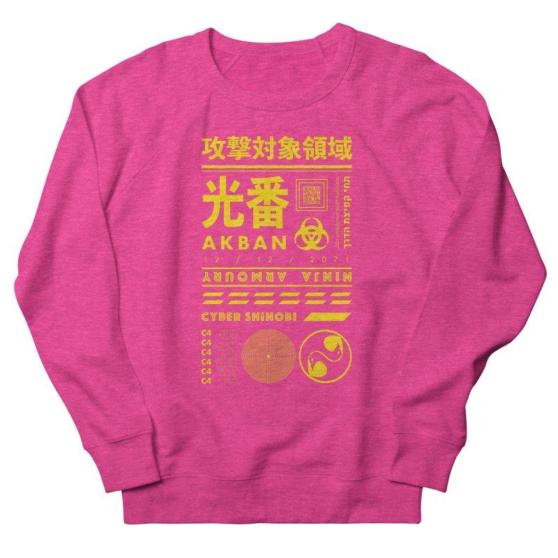 AKBAN Yellow Hazard Women's Sweatshirt by AKBAN Core Official