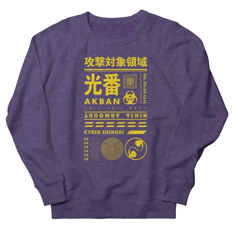 AKBAN Yellow Hazard Men's Sweatshirt by AKBAN Core Official