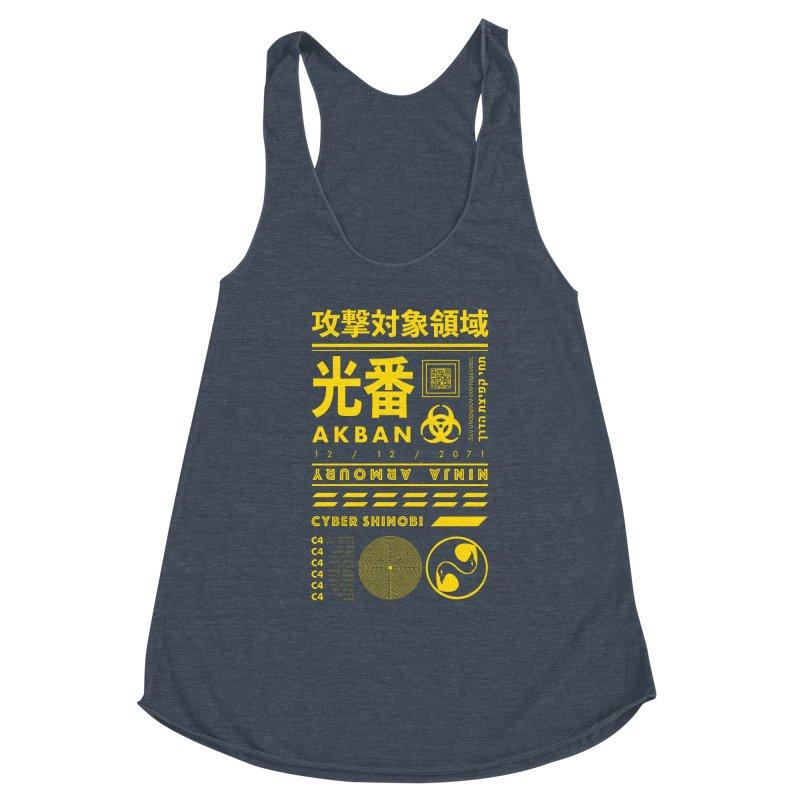 AKBAN Yellow Hazard Women's Tank by AKBAN Core Official