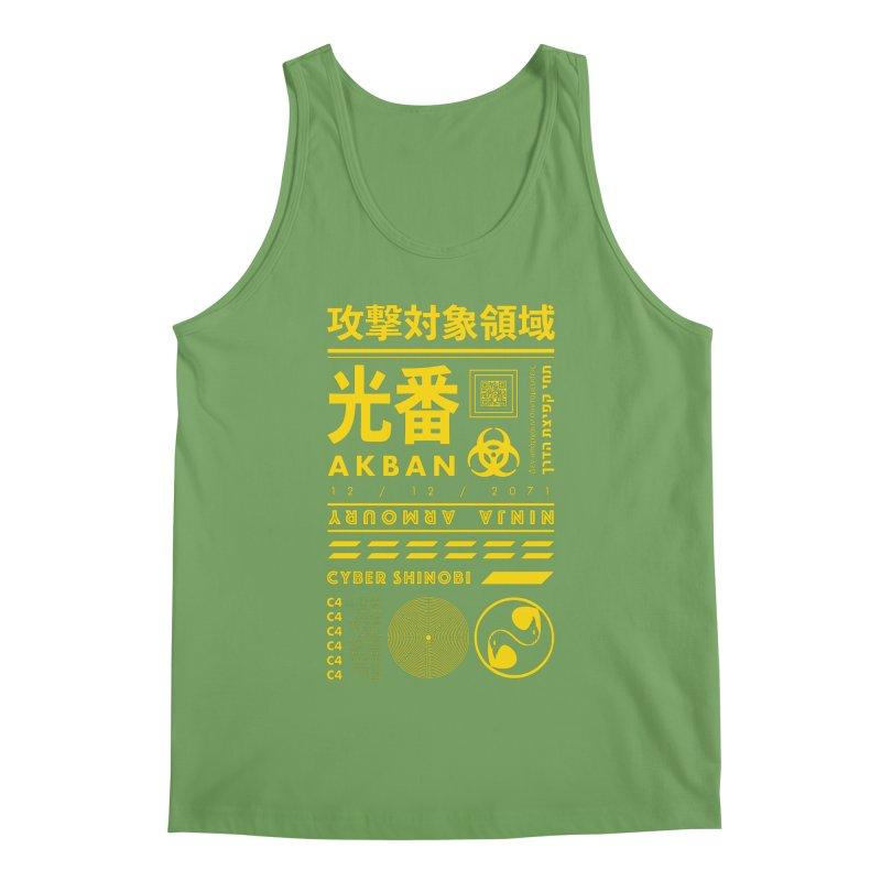 AKBAN Yellow Hazard Men's Tank by AKBAN Core Official